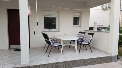 Photo for Two bedroom apartment with terrace Nin, Zadar (A-17784-a)