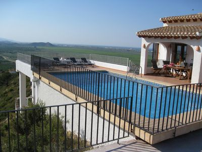 Photo for Villa with Private Pool and Spectacular Sea & Mountain Views near Pego& Denia Costa Blanca