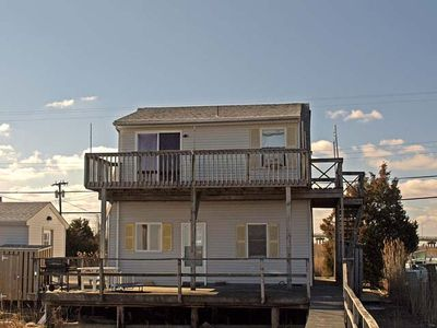 Photo for Beautiful unobstructed views of the inland waterway and meadowlands