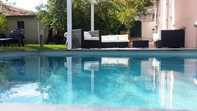 Photo for Detached Villa in centre of Antibes 5 mins walk from Marina; Sleeps  max 8