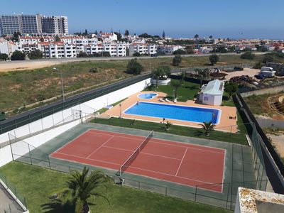 Photo for 2 bedroom apartment, pool, WiFi, Air Conditioning, Tennis, Children's Garden, Garage