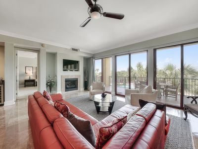 Photo for Condo w/ private cabana at beachfront resort w/ 3 pools, 2 hot tubs & gym!