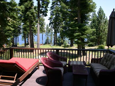 Photo for A Sublime Retreat In The Wilderness And Right On The Lake