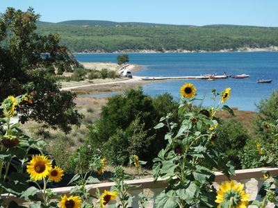 Photo for Holiday apartment with sea views, very quiet with lots of nature.