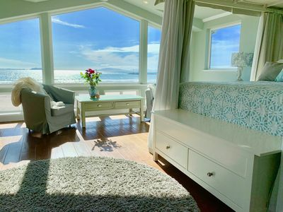 Upstairs Master Suite: Serene View of the Channel Islands