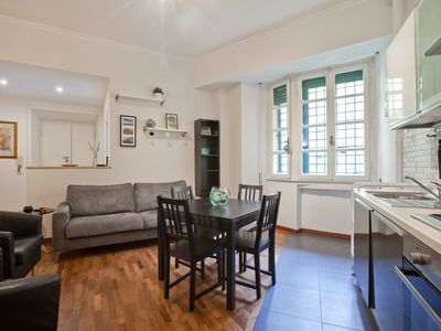 Photo for Comfortable and cozy 3 bedroom apartment, Appio Latino neighbourhood