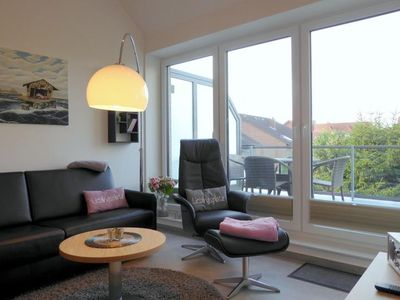 """Photo for In the charming """"Wind & Welle"""" apartment with a west-facing balcony, you feel right at home"""