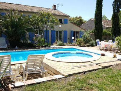 Photo for Villa with heated pool with children's section, fenced garden, walking distance bakery