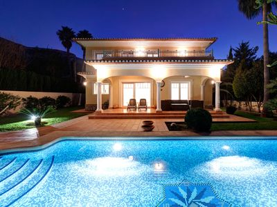 Photo for Luxurious villa in Denia with pool and Mediterranean garden