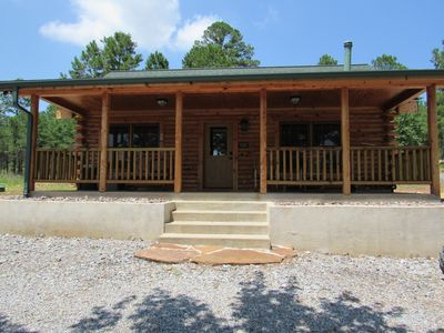 Photo for 2BR Cabin Vacation Rental in Stringtown, Oklahoma