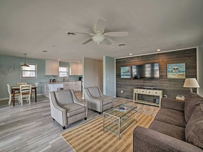 Photo for Chic Apt w/ Deck-Steps from Carolina Beach Shore!
