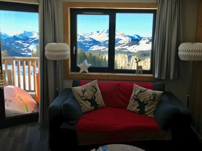 Photo for Avoriaz, lovely apartment for 4/6 people with a beautiful mountain view