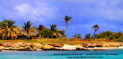 Photo for Seascape Beach House Tropical Holiday Cottage Surfers Point Barbados Oceanfront