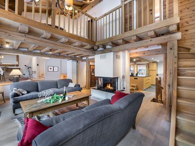 Photo for Chalet Pierremont : Spacious and in the heart of the village