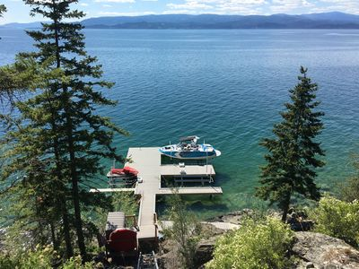 Photo for Luxuruious Flathead Lake Vacation Rental Home With Spectacular Views