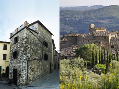 Photo for The Art Rebus MEDIEVAL TOWER in TUSCANY