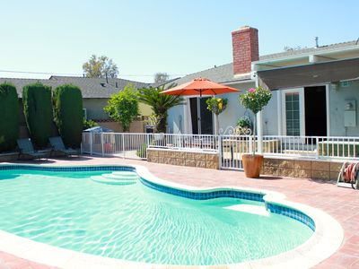 Photo for Walking Distance To Disneyland With Private Pool, Game Room, and Hot Tub!