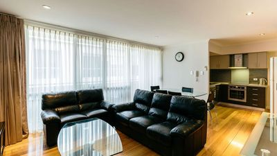 Photo for Centrally located modern 2 level apartment