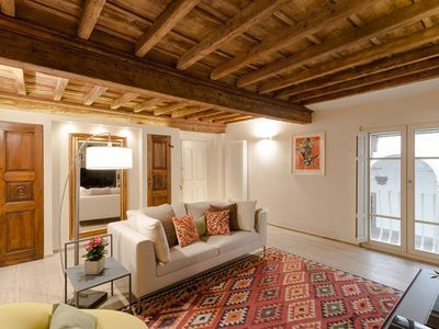 Photo for Mordini luxurious cosy apartment in 16th  Lucca Center air conditioning.
