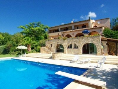 Photo for STUNNING apartment cote d azur with pool ( LONG TERM  LET AVAILABLE)