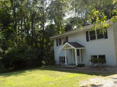 Photo for 4 Bedroom Michiana Shores Beach Home! Close to the Beach, Playground and Pizza!