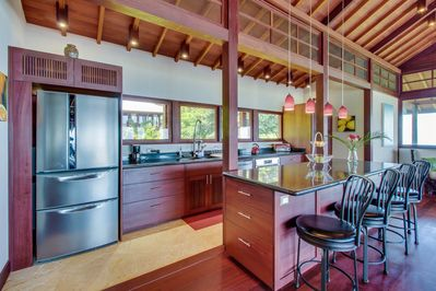 Have the option to cook meals in the fully equipped kitchen during your stay