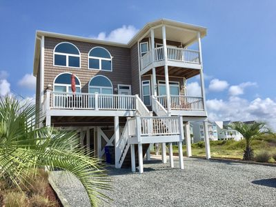 Photo for Beautiful 5BR/5BA Home w Private Salt Water Pool. Ocean/Intracoastal Views