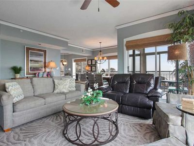 Photo for Spectacular 3 bedroom ocean front villa located in Palmetto Dunes