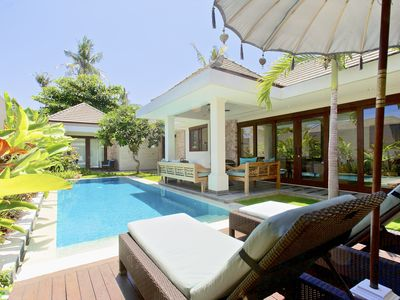 Photo for On the beach in secure Sanur complex