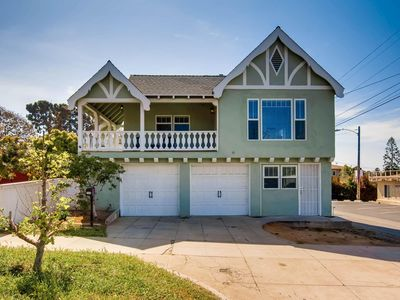 Photo for Beachy Multi-Family Home. Walk to beach, Pier, Breweries and Restaurants