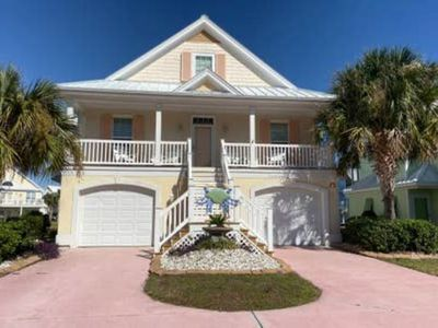 Photo for Large Beach Home with Golf Carts, Pool Table and Community Pools