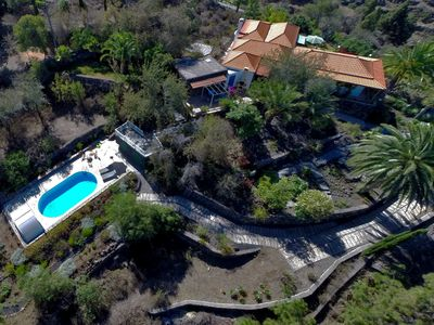 Photo for Comfort-Finca-Tijarafe, heated, coverable pool - 2-6 persons, breathtaking view