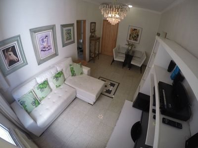Photo for Apartment in Rio de Janeiro with Lift, Internet, Washing machine, Air conditioning (1023173)