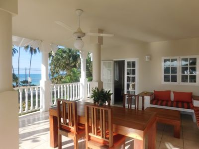 Photo for Superb beachfront apartment playa popi