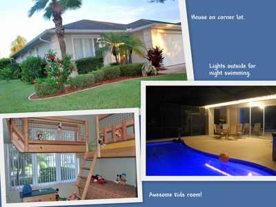 Awesome vacation home for families with kids.