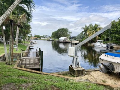Photo for Villa Poinciana, 3/3 on Gulf Access canal, Close to Yacht Club and BEACH!