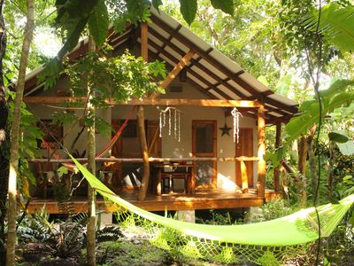 Photo for Tropical paradise cottage  few steps to the beach between Montezuma and Cabuya