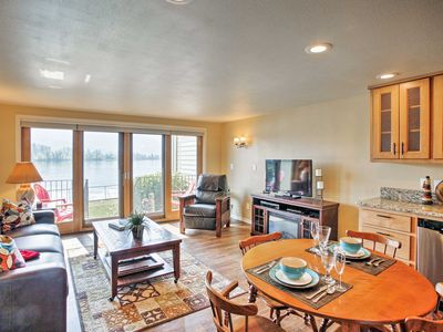 Photo for Waterfront Condo 20 Steps from Lake Pend Oreille!