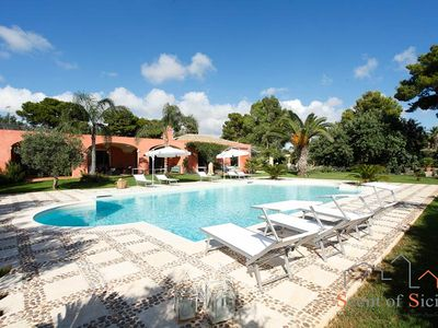 Photo for Exclusive Sicilian Traditional Villa With Swimming Pool And Big Garden