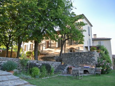 Photo for Domaine de Lascours - Luxurious property in the foothills of Cévennes Mountains