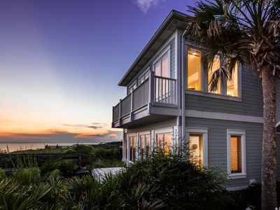 """Photo for """"Endless View"""" Beachfront! Private Heated Pool & Carriage House!"""
