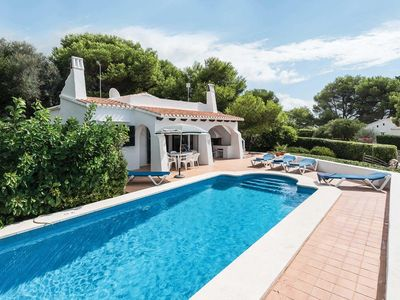 Photo for 3 bedroom Villa, sleeps 6 in Binibèquer Vell with Pool and WiFi