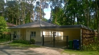 Photo for Accessible. familienfrdl. Cottage in the countryside, fireplace, grill, close to Potsdam / Berlin