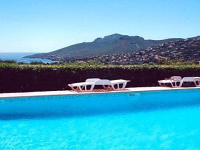 Photo for Apartment with Shared Pool & Breathtaking Mountain and Sea Views.