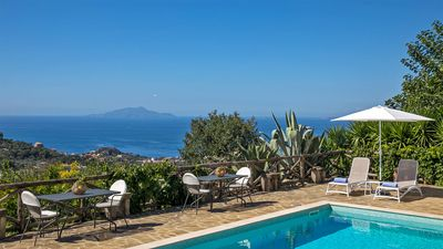 Photo for Villa Amiela with Private Pool, Sea View, Garden, Terrace and Parking