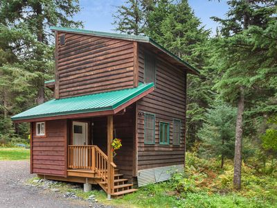 Photo for NEW LISTING! Quaint cabin with modern amenities located close to ski slopes!
