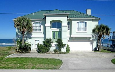 Beach Whisper is ocean front on a secluded beach - Welcome to Beach Whisper! Our lovely beach front home is located in Ponte Vedra Beach, FL along a secluded white sand beach.