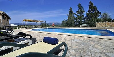 Photo for SA TANCA DE CAN VICENS- Lovely Rustic Villa with pool in Sencelles. Sat TV. Clear views - Free Wifi