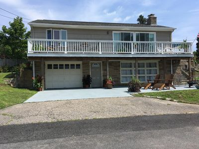 Photo for Outstanding Four Bedroom with Water Views! Salt Pond dock only 600 ft Away!