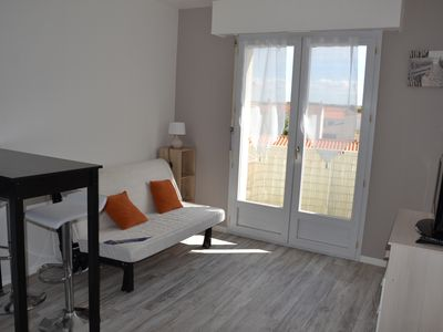 Photo for Studio Les Sables d'Olonne sleeps 3